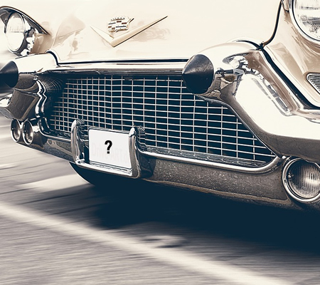 Check nummerplade på bil