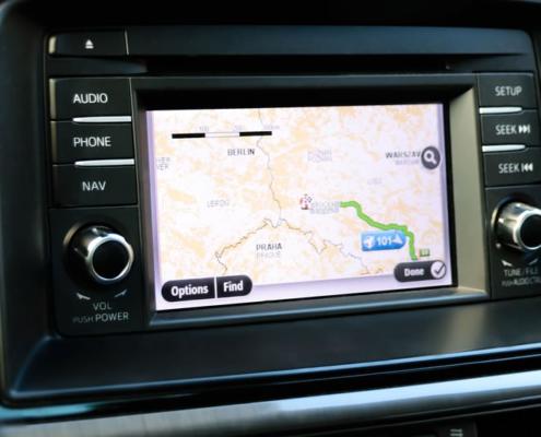 GPS sporing af biler