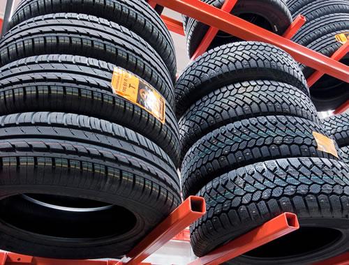 Opbevaring af bildæk